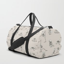 Skeleton Yoga Duffle Bag