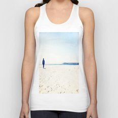 Beach & Blue Unisex Tank Top