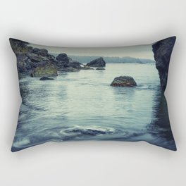 Beauty in Old Home Beach Rectangular Pillow