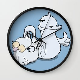 Pokémon - Number 86 & 87 Wall Clock