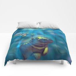 Playful waters Comforters