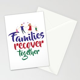Families recover together Stationery Cards