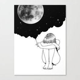 3 Minute Galaxy Canvas Print
