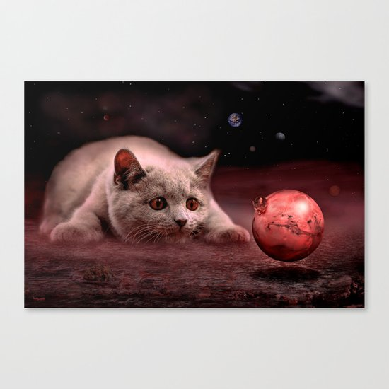 Mouse on Mars Canvas Print