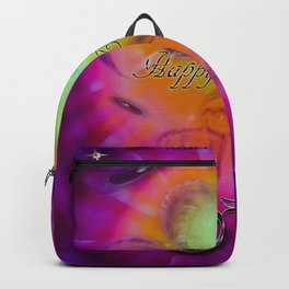 Zodiac sign Aries Happy Birthday 2 Backpack