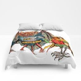 rat bird Comforters