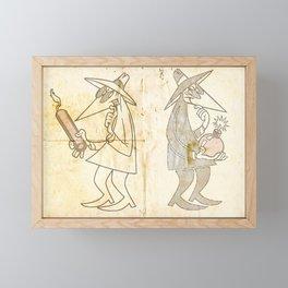 Spy vs. Spy Framed Mini Art Print