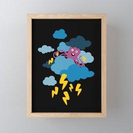 Who Makes the Thunder? Framed Mini Art Print