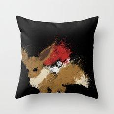 Eeveelution Throw Pillow