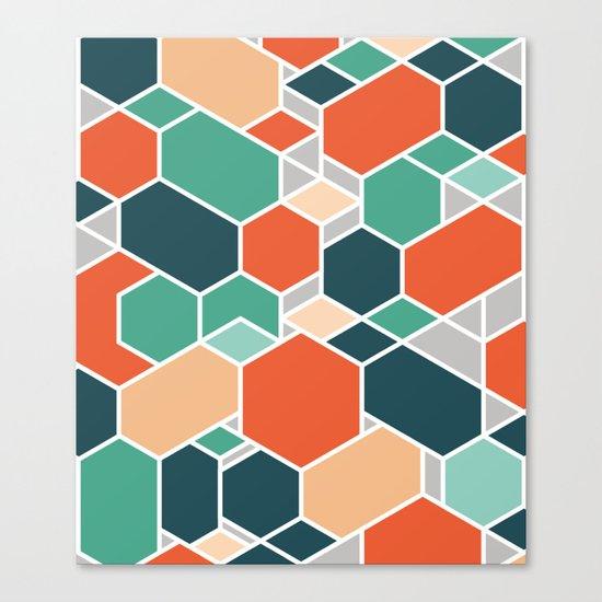 Hex P Canvas Print