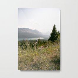 Dreamy Evenings in Montana Metal Print