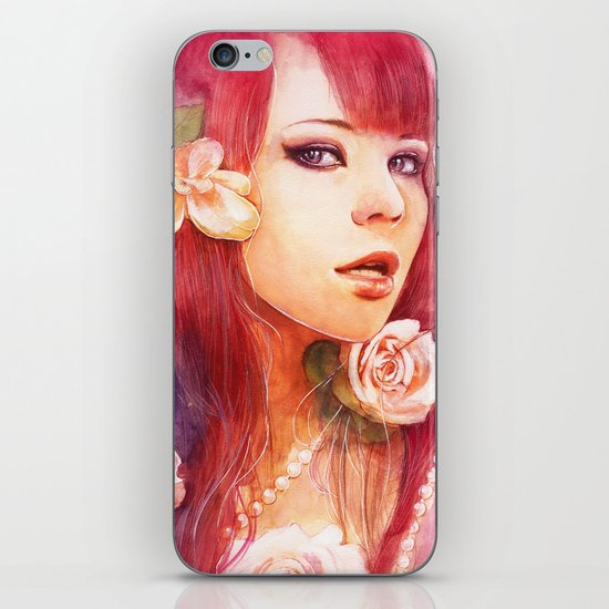 Kiss from a rose iPhone & iPod Skin