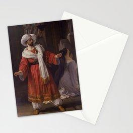 Francesco Hayez - Portrait of Giovanni David as Alessandro in Pacini's Gli arabi nelle Gallie Stationery Cards