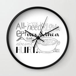 Chocolate Wall Clock