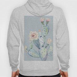 Prettiest Rose Cactus Blue Hoody