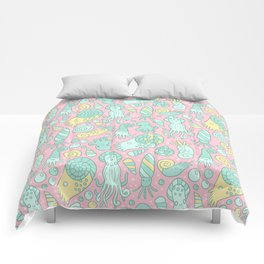 Cute Cephalopods Comforters