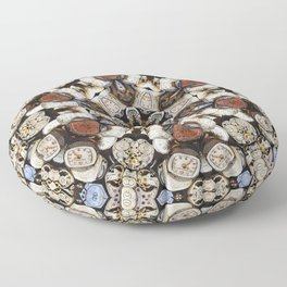 Pieces of Time Floor Pillow