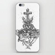 a Sailors Sacred Heart iPhone & iPod Skin