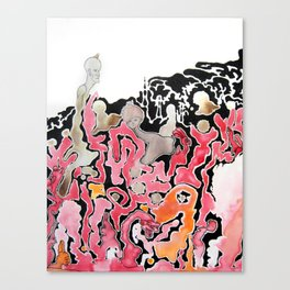 A Wine Mishap Canvas Print
