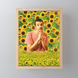 Flower Boy - Rex Orange County Framed Mini Art Print