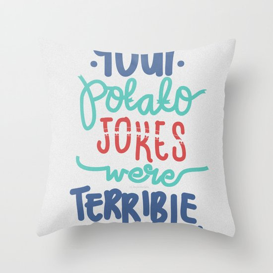 Potato Throw Pillow