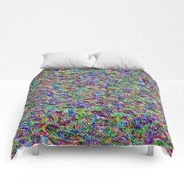 rainbow forest Comforters
