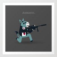 A&A - Assassin. Art Print