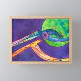 Stellar Plexus Framed Mini Art Print
