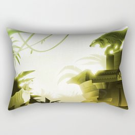 The Challenge Rectangular Pillow