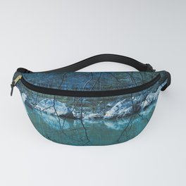 Early Blue Morning Fanny Pack
