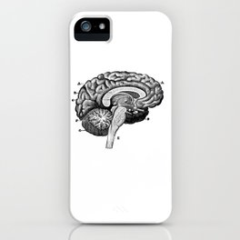 Brain 2 iPhone Case