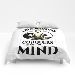 Conquer Your Mind Comforters