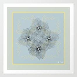Fleuron Composition No. 14 Art Print