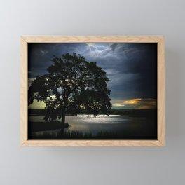 Dark Dawning Framed Mini Art Print