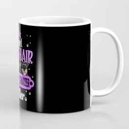 Miniature Schnauzer Glitter Coffee Mug