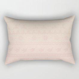 Dasher le Renne Rectangular Pillow