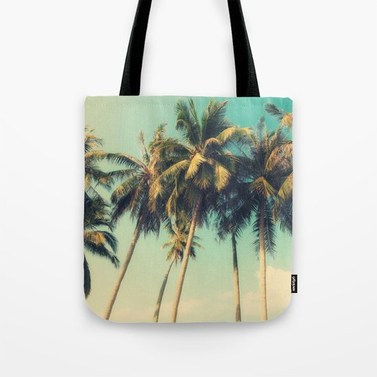 tropical trees in florida Tote Bag