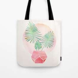 Under The Summer Sun - Palm Fronds Tote Bag