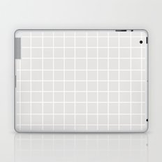 Grid (White/Platinum) Laptop & iPad Skin