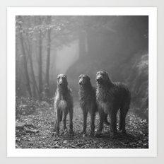 Three Scots Art Print