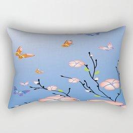Art Flowers V16 Rectangular Pillow