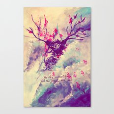 the sky is beautiful Canvas Print