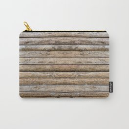 Wood Effects Raw Wood Log Cabin Lodge Rustic Carry-All Pouch