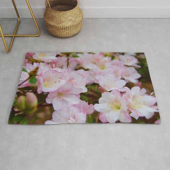 Blooming Azalea Flowers by skylabella