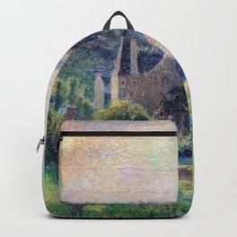 Camille Pissarro - Landscape In Eragny - Digital Remastered Edition Backpack
