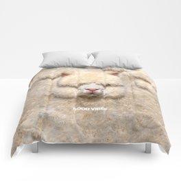 GOOD VIBES ALPACA Comforters