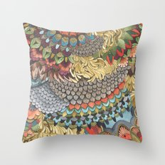 Quilted Forest: The Deer Throw Pillow