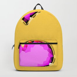 Glamour heart shaped diamonds Backpack