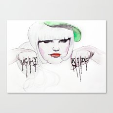 Ugly Kids Canvas Print