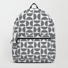 HALF-CIRCLES, GREY Backpack